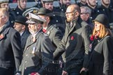 March Past, Remembrance Sunday at the Cenotaph 2016: M52 Munitions Workers Association. Cenotaph, Whitehall, London SW1, London, Greater London, United Kingdom, on 13 November 2016 at 13:21, image #3085