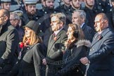 March Past, Remembrance Sunday at the Cenotaph 2016: M52 Munitions Workers Association. Cenotaph, Whitehall, London SW1, London, Greater London, United Kingdom, on 13 November 2016 at 13:21, image #3087