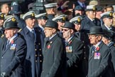 during the Royal British Legion March Past on Remembrance Sunday at the Cenotaph, Whitehall, Westminster, London, 11 November 2018, 11:40.