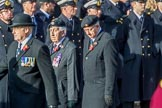 during the Royal British Legion March Past on Remembrance Sunday at the Cenotaph, Whitehall, Westminster, London, 11 November 2018, 11:41.