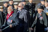 Cloud Observers (Group E7, 3 members) during the Royal British Legion March Past on Remembrance Sunday at the Cenotaph, Whitehall, Westminster, London, 11 November 2018, 11:42.