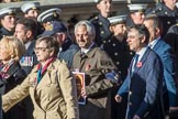 HMS Glorious, Ardent & Acasta Association  (GLARAC) Association (Group E17, 27 members)  during the Royal British Legion March Past on Remembrance Sunday at the Cenotaph, Whitehall, Westminster, London, 11 November 2018, 11:43.