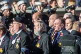 HMS Ganges Association  (Group E20, 30 members) during the Royal British Legion March Past on Remembrance Sunday at the Cenotaph, Whitehall, Westminster, London, 11 November 2018, 11:44.