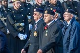 TON Class Association  (Group E31, 23 members) during the Royal British Legion March Past on Remembrance Sunday at the Cenotaph, Whitehall, Westminster, London, 11 November 2018, 11:45.