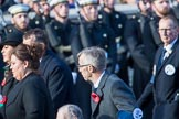 The Royal Naval Benevolent Trust (Group E36, 12 members) during the Royal British Legion March Past on Remembrance Sunday at the Cenotaph, Whitehall, Westminster, London, 11 November 2018, 11:46.