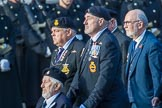 Submariners Association   (Group E38, 28 members) during the Royal British Legion March Past on Remembrance Sunday at the Cenotaph, Whitehall, Westminster, London, 11 November 2018, 11:46.