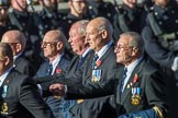 Association  OF Royal Yachtsmen (Group E39, 32 members) during the Royal British Legion March Past on Remembrance Sunday at the Cenotaph, Whitehall, Westminster, London, 11 November 2018, 11:46.