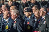 County Class Destroyer (Group E43, 30 members) during the Royal British Legion March Past on Remembrance Sunday at the Cenotaph, Whitehall, Westminster, London, 11 November 2018, 11:46.