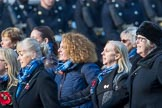 Association  of Wrens (Group E45, 115 members) during the Royal British Legion March Past on Remembrance Sunday at the Cenotaph, Whitehall, Westminster, London, 11 November 2018, 11:47.