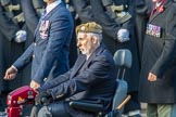 Blesma, The Limbless Veterans (Group AA1, 55 members)during the Royal British Legion March Past on Remembrance Sunday at the Cenotaph, Whitehall, Westminster, London, 11 November 2018, 11:47.