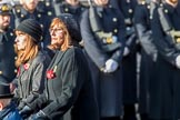 The Queen Alexandra Hospital Home (Group AA4, 20 members) during the Royal British Legion March Past on Remembrance Sunday at the Cenotaph, Whitehall, Westminster, London, 11 November 2018, 11:48.