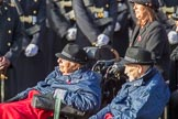 The Queen Alexandra Hospital Home (Group AA4, 20 members) during the Royal British Legion March Past on Remembrance Sunday at the Cenotaph, Whitehall, Westminster, London, 11 November 2018, 11:49.