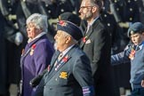 Italy Star Association  1943 - 1945 (Group F1, 29 members) during the Royal British Legion March Past on Remembrance Sunday at the Cenotaph, Whitehall, Westminster, London, 11 November 2018, 11:49.
