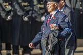 British Korean Veterans Association  (Group F2, 16 members) during the Royal British Legion March Past on Remembrance Sunday at the Cenotaph, Whitehall, Westminster, London, 11 November 2018, 11:49.
