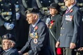 British Korean Veterans Association  (Group F2, 16 members) during the Royal British Legion March Past on Remembrance Sunday at the Cenotaph, Whitehall, Westminster, London, 11 November 2018, 11:50.