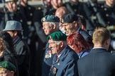 National Malay and Borneo Veterans Association  (Group F12, 76 members) during the Royal British Legion March Past on Remembrance Sunday at the Cenotaph, Whitehall, Westminster, London, 11 November 2018, 11:51.