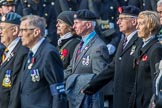 Aden Veterans Association (Group F16, 53 members) during the Royal British Legion March Past on Remembrance Sunday at the Cenotaph, Whitehall, Westminster, London, 11 November 2018, 11:52.