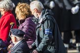 Spirit of Normandy Trust (Group F26, 20 members) during the Royal British Legion March Past on Remembrance Sunday at the Cenotaph, Whitehall, Westminster, London, 11 November 2018, 11:54.