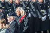 Foreign Legion Association of Great Britain (Group F27, 17 members) during the Royal British Legion March Past on Remembrance Sunday at the Cenotaph, Whitehall, Westminster, London, 11 November 2018, 11:54.