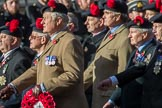 The Black Watch Association - London Branch (Group A10, 72 members) during the Royal British Legion March Past on Remembrance Sunday at the Cenotaph, Whitehall, Westminster, London, 11 November 2018, 11:57.