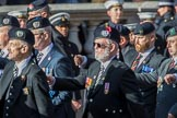 London Scottish Regimental Association (Group A31, 30 members) during the Royal British Legion March Past on Remembrance Sunday at the Cenotaph, Whitehall, Westminster, London, 11 November 2018, 12:02.