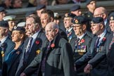 Royal Engineers Bomb Disposal Association (Group B5, 60 members) during the Royal British Legion March Past on Remembrance Sunday at the Cenotaph, Whitehall, Westminster, London, 11 November 2018, 12:06.