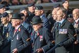 Royal Signals Association (Group B6, 49 members) during the Royal British Legion March Past on Remembrance Sunday at the Cenotaph, Whitehall, Westminster, London, 11 November 2018, 12:06.