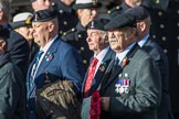 Royal Signals Association (Group B6, 49 members) during the Royal British Legion March Past on Remembrance Sunday at the Cenotaph, Whitehall, Westminster, London, 11 November 2018, 12:07.