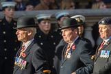 The Royal Lancers (Group B22, 24 members) during the Royal British Legion March Past on Remembrance Sunday at the Cenotaph, Whitehall, Westminster, London, 11 November 2018, 12:10.