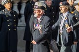 17th/21st Lancers (Death or Glory Boys) Veterans Association (Group B24, 35 members) during the Royal British Legion March Past on Remembrance Sunday at the Cenotaph, Whitehall, Westminster, London, 11 November 2018, 12:11.