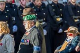 Adjutant General Corps (Group B34, 13 members) during the Royal British Legion March Past on Remembrance Sunday at the Cenotaph, Whitehall, Westminster, London, 11 November 2018, 12:13.