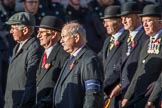 Home Guard Association (Group B38, 8 members) during the Royal British Legion March Past on Remembrance Sunday at the Cenotaph, Whitehall, Westminster, London, 11 November 2018, 12:13.