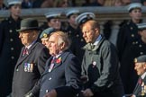 Royal Air Force Regiment Association (Group C3, 175 members) during the Royal British Legion March Past on Remembrance Sunday at the Cenotaph, Whitehall, Westminster, London, 11 November 2018, 12:14.