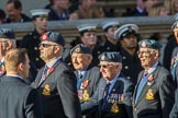 RAFDFSA (Group C11, 22 members) during the Royal British Legion March Past on Remembrance Sunday at the Cenotaph, Whitehall, Westminster, London, 11 November 2018, 12:16.