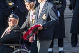 Air Sea Rescue and Marine Craft Section Club (Royal Air Force) (Group C19, 12 members) during the Royal British Legion March Past on Remembrance Sunday at the Cenotaph, Whitehall, Westminster, London, 11 November 2018, 12:17.