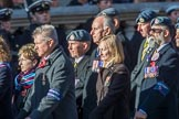 Royal Air Force Survival Equipment (squippers) Association (Group C23, 50 members) during the Royal British Legion March Past on Remembrance Sunday at the Cenotaph, Whitehall, Westminster, London, 11 November 2018, 12:18.