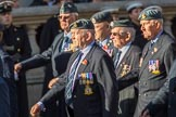 33 Squadron Association - RAF (Group C24, 23 members) during the Royal British Legion March Past on Remembrance Sunday at the Cenotaph, Whitehall, Westminster, London, 11 November 2018, 12:18.