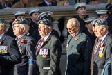 RAF Yatesbury Association (Group C34, 9 members) during the Royal British Legion March Past on Remembrance Sunday at the Cenotaph, Whitehall, Westminster, London, 11 November 2018, 12:19.