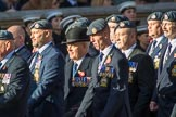 Royal Air Force Servicing Commando and Tactical Supply Wing Association (Group C36, 50 members) during the Royal British Legion March Past on Remembrance Sunday at the Cenotaph, Whitehall, Westminster, London, 11 November 2018, 12:20.