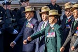 British Gurkha Welfare Society (Group D6, 5 members) during the Royal British Legion March Past on Remembrance Sunday at the Cenotaph, Whitehall, Westminster, London, 11 November 2018, 12:21.