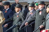 Circuit of Service Lodges (Group D14, 35 members) during the Royal British Legion March Past on Remembrance Sunday at the Cenotaph, Whitehall, Westminster, London, 11 November 2018, 12:22.