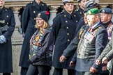 The Royal British Legion (Group D15, 150 members) during the Royal British Legion March Past on Remembrance Sunday at the Cenotaph, Whitehall, Westminster, London, 11 November 2018, 12:22.