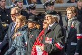 Stowarzyszenie Przyjaciol Polskich Weteranow -SPPW (Group D20, 30 members) during the Royal British Legion March Past on Remembrance Sunday at the Cenotaph, Whitehall, Westminster, London, 11 November 2018, 12:24.
