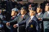 Hong Kong Military Service Corps - HKMSC (Group D21, 36 members) during the Royal British Legion March Past on Remembrance Sunday at the Cenotaph, Whitehall, Westminster, London, 11 November 2018, 12:24.