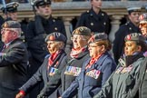 QARANC (Group D23, 49 members) during the Royal British Legion March Past on Remembrance Sunday at the Cenotaph, Whitehall, Westminster, London, 11 November 2018, 12:24.
