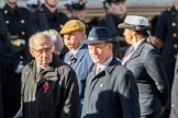 The British Resistance - Coleshill Auxiliary Research Team (Group D25, 14 members) during the Royal British Legion March Past on Remembrance Sunday at the Cenotaph, Whitehall, Westminster, London, 11 November 2018, 12:24.