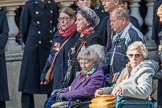 The British Evacuees Association (Group M4, 50 members) during the Royal British Legion March Past on Remembrance Sunday at the Cenotaph, Whitehall, Westminster, London, 11 November 2018, 12:25.