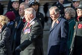 WRVS / RVS (Group M8, 19 members) during the Royal British Legion March Past on Remembrance Sunday at the Cenotaph, Whitehall, Westminster, London, 11 November 2018, 12:26.