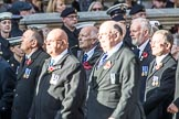 National Association of Retired Police Officers (Group M10, 36 members) during the Royal British Legion March Past on Remembrance Sunday at the Cenotaph, Whitehall, Westminster, London, 11 November 2018, 12:26.