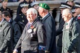 London Ambulance Service Retirement Association (Group M11, 10 members) during the Royal British Legion March Past on Remembrance Sunday at the Cenotaph, Whitehall, Westminster, London, 11 November 2018, 12:26.